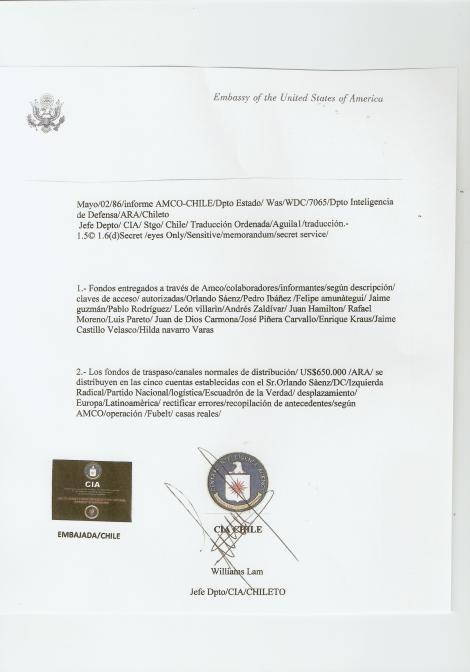 FF.AA CHILENA =CRIMINALES DE LESA HUMANIDAD SECUESTRARON EN MAYO 1993 A UN HIJO DE PIÑERA