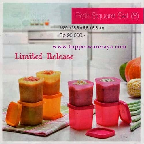 tupperware promo,Tupperware Promo April 2014 - Petit Square Set