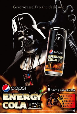 Pepsi Energy Cola Darth Vader