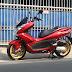 Honda PCX Modified Kaki-Kaki PIAGGIO X-9 Pesanan Mr. TONO Jakarta