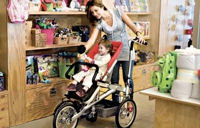 TagaTrike bicicleta com bebê conforto/ cadeirinha blog Mamãe de Salto ==> imagem retirada da internet
