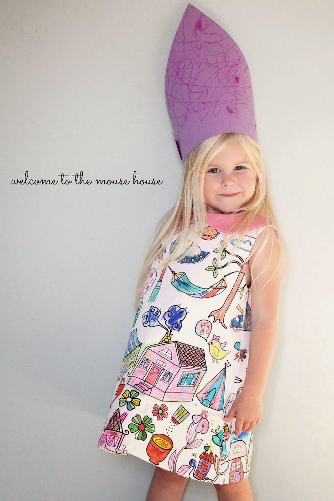 The Coloring Book Dress