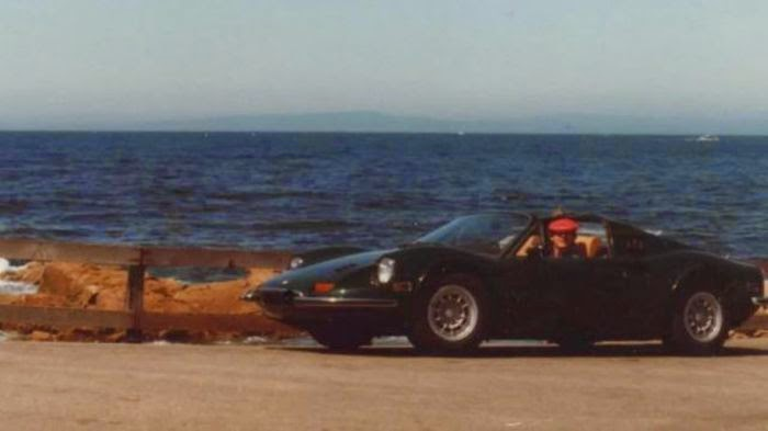 Ferrari was Buried
