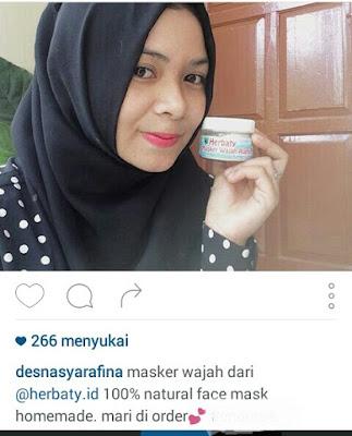 produk perawatan wajah alami