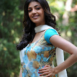 Kajal Agarwal Looks Gorgeous In Churidar Salwar Kameez