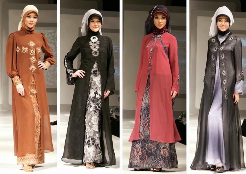 Model Baju dan Busana Muslim wanita yang cocok untuk lebaran 2014