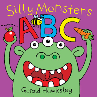 Cover picture from Silly Monsters ABC, a kid's kindle ebook