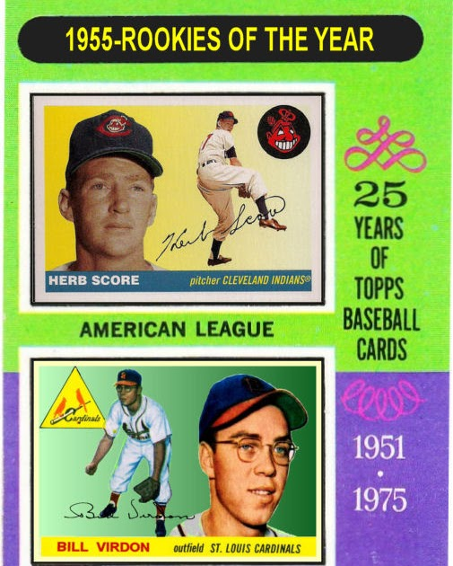 Cards That Never Were: 1975 Topps 1955 Rookies Of The Year