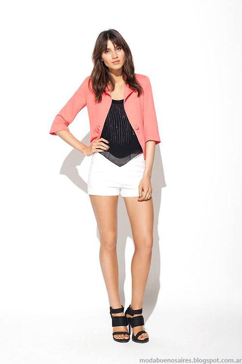 Shorts y faldas de moda verano 2015 MAB.