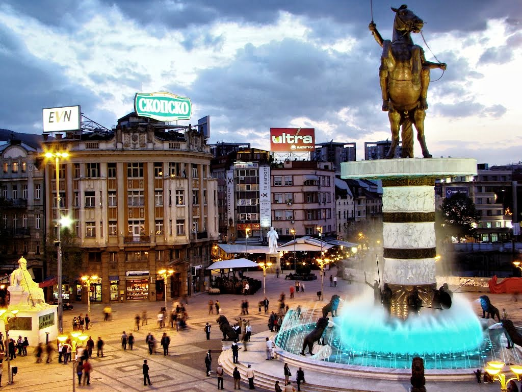 Skopje,Dazzling Capital of  Macedonia