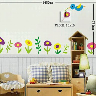 Stickers de Pared, Decoracion de Habitaciones de Niños, parte 2