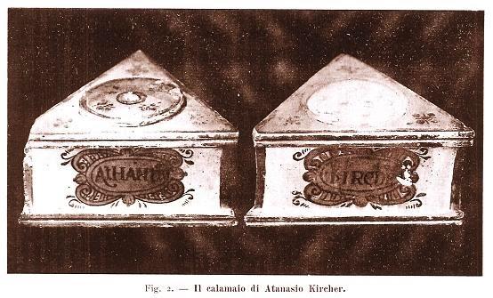 Calamaio di Athanasius Kircher
