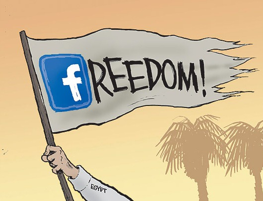 Freedom (Social Media and the arab Spring)