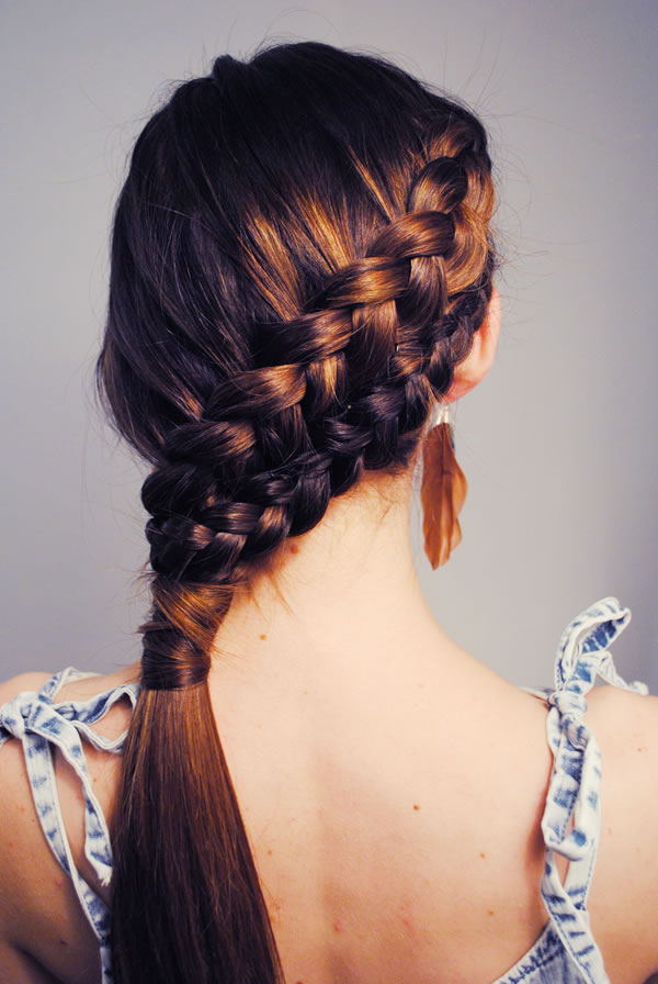 double french braid via loveblair.blogspot.com
