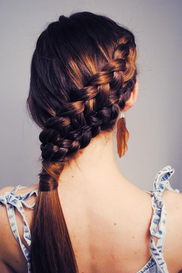 double french braid via loveblair.blogspot.com