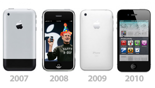 Four Years Ago On 7th January 2007 Apple CEO Steve Jobs Announced The First Original IPhone Also Called 2G EDGE After Months Of Rumors