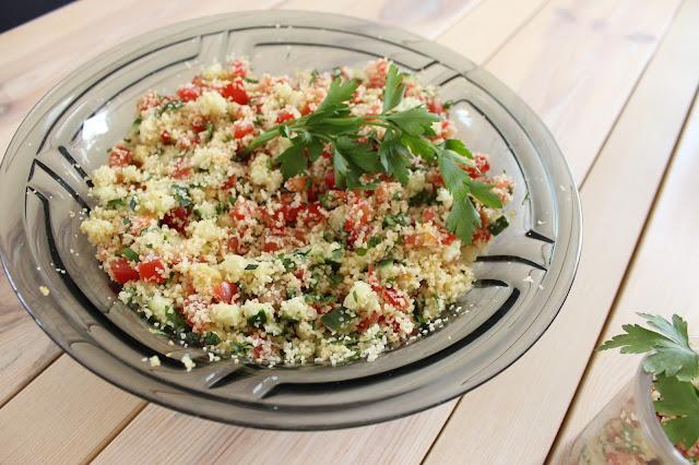 TheBlondeLion Recipe Food Tabouleh Salad Bulgur Healthy http://www.theblondelion.com/2015/07/food-tabouleh-die-perfekte-grillbeilage.html