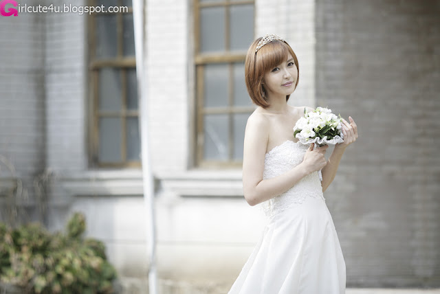 5 Kang Yui - Wedding Dress-very cute asian girl-girlcute4u.blogspot.com