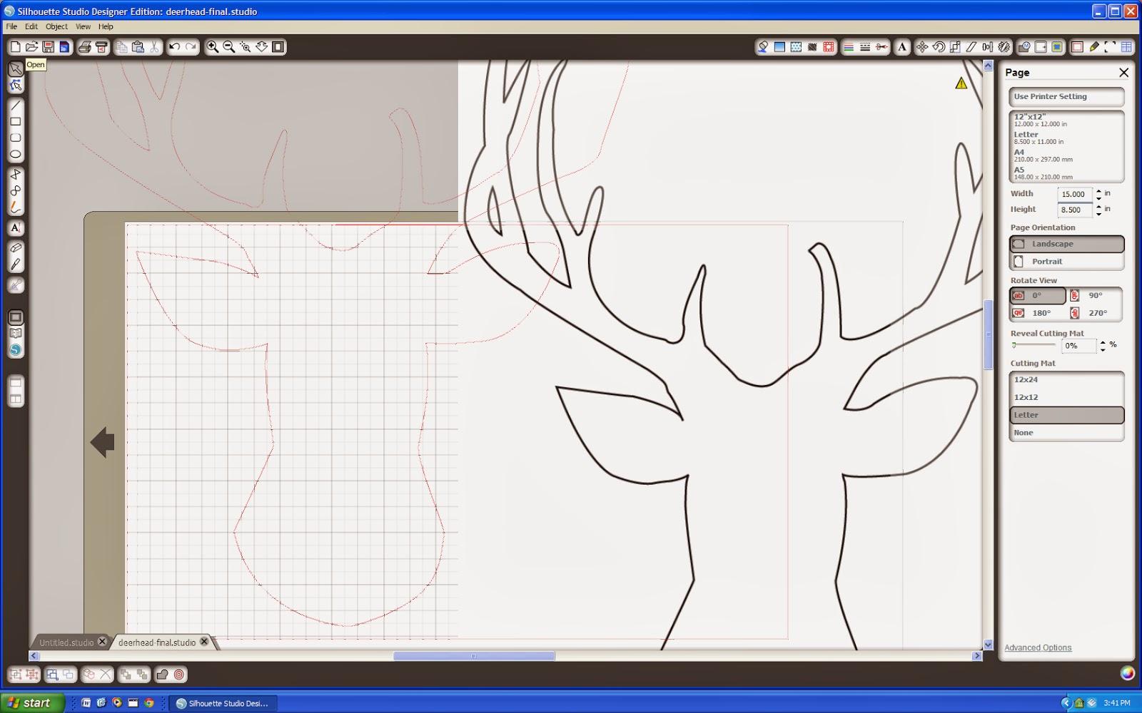 ... stencil deer silhouette deer head silhouette stencil deer head