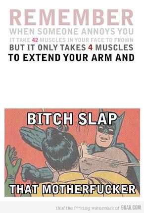 Y por eso: SLAP!