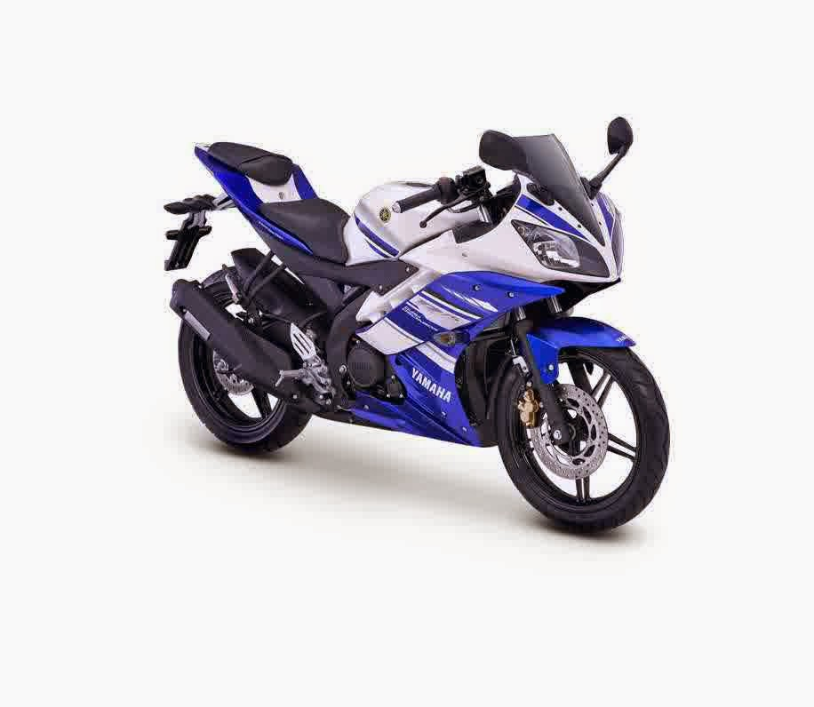 Yamaha R15 Motor Sport Racing dan Kencang Biru
