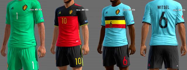 PES 2013 Belgium GDB Euro 2016 by ABIEL