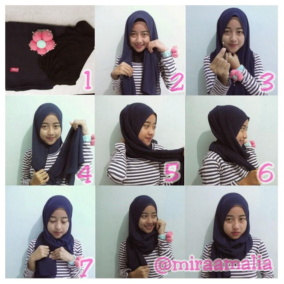 Mira Amalia Tutorial Hijab 1 Daily Hijab