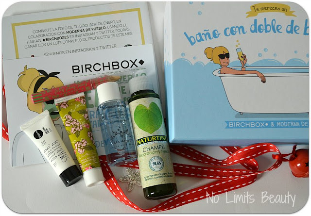BirchBox Enero 2016
