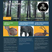 Web de la Liga Ártabra de Bosque-LGCS13