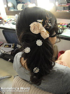Bridal hair by Manny
