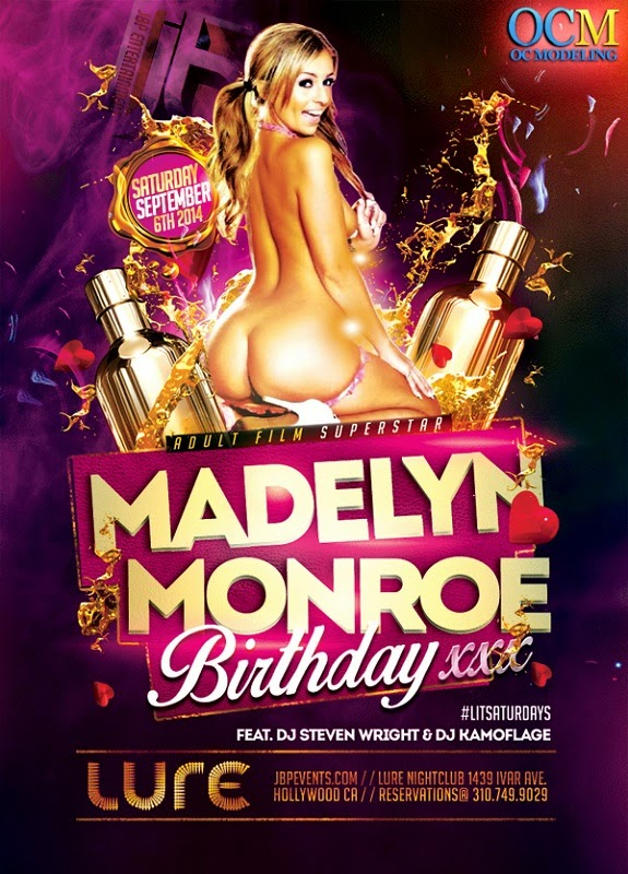 """Adult Star Madelyn Monroe Birthday at Lure"""