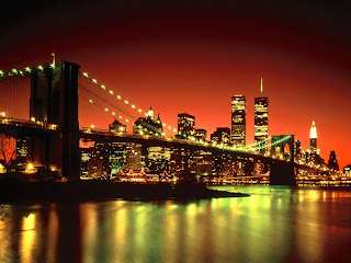 New York City night Wallpaper