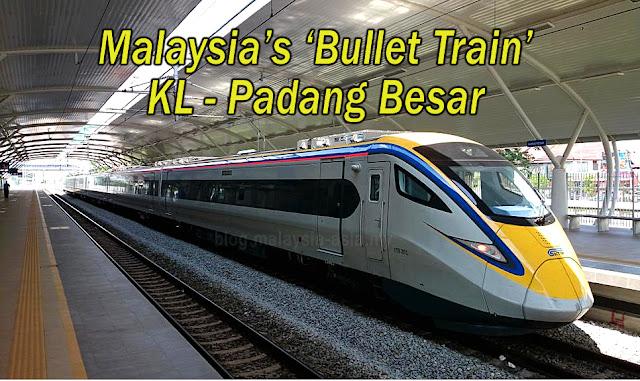 KTM ETS Train KL to Butterworth, Padang Besar