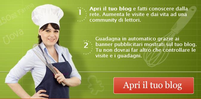 si pu guadagnare con un sito o un blog di cucina