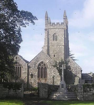 St Stythians or St Stithians Church Cornwall