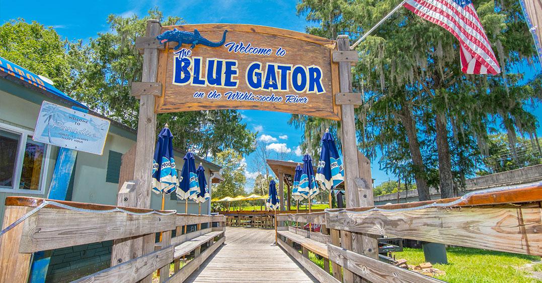 The Blue Gator Tiki Bar & Restaurant