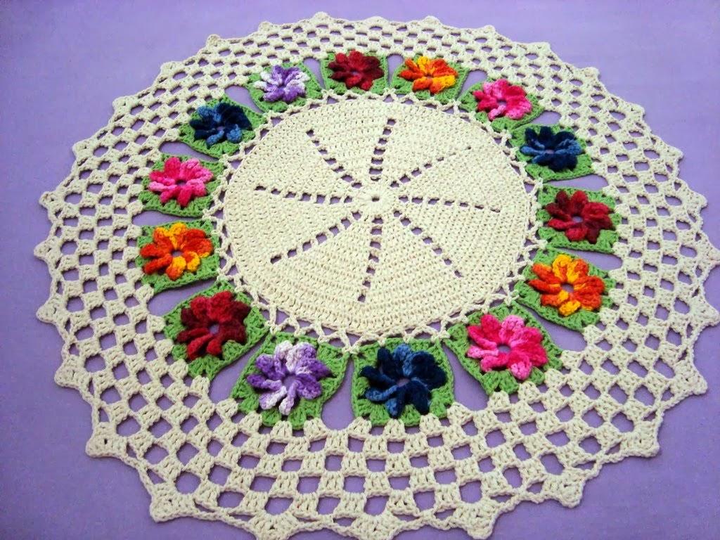 Tapete Flores coloridas