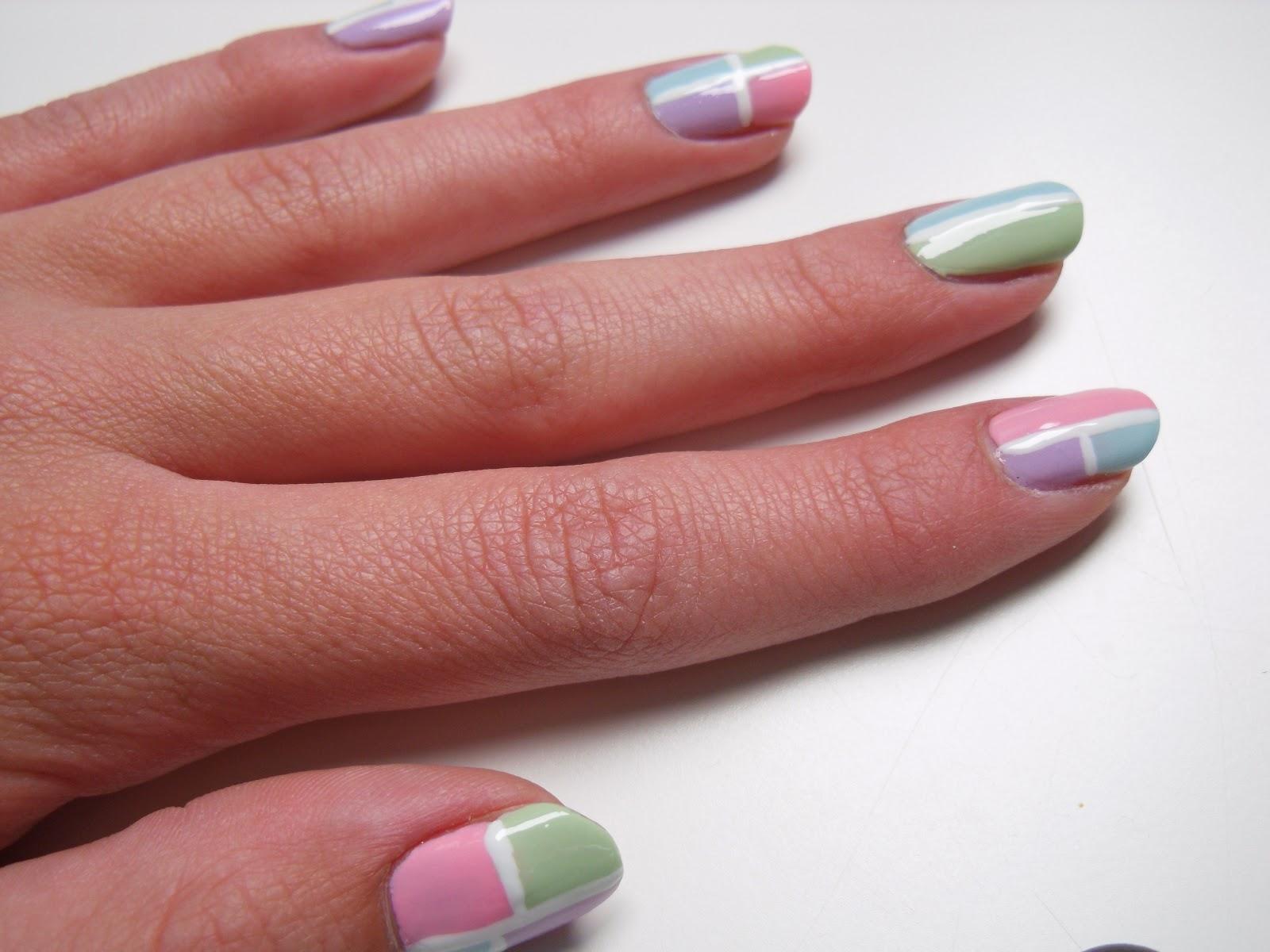 Adorable Nails Pastel Nail Art