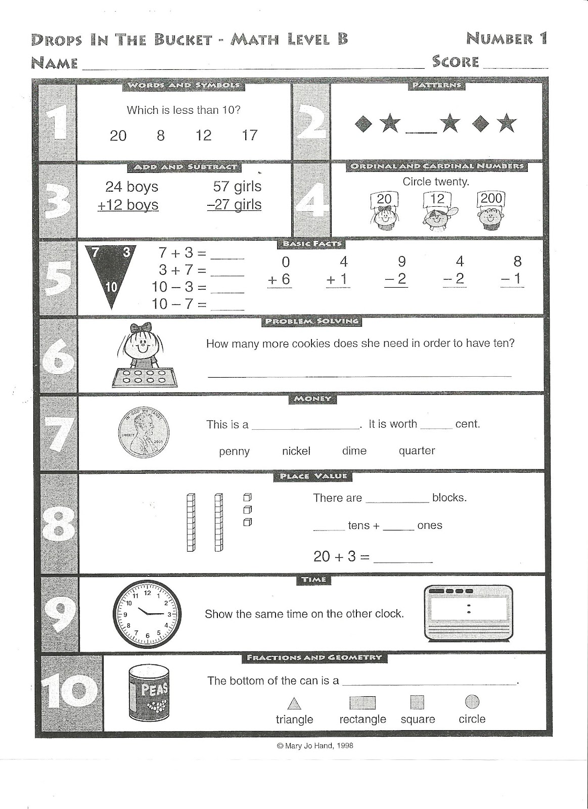 Math Homework Worksheets : Weekly homework sheet for first grade kindergarten