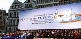 Antwerp 9 Settembre 2014  #peaceisthefuture - Cerimonia Finale