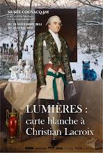 Actu expos / Lumières: carte blanche à Christian Lacroix
