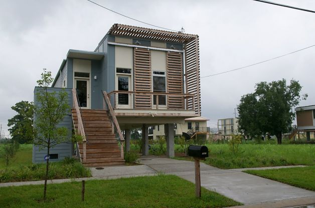 Brad Pitt Houses in New Orleans' 9th Ward