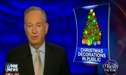 """We Won The War"": Bill O'Reilly Congratulates Himself For Having ""Single-Handedly Saved Christmas"""