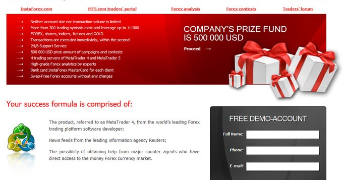 Free forex html templates