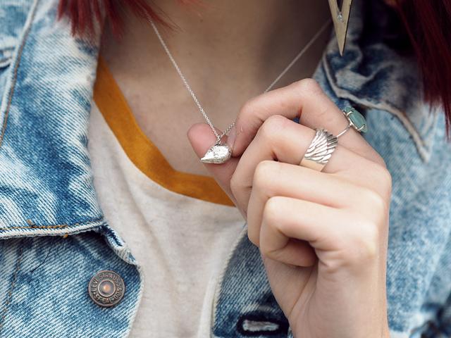 Fashion Blogger Wonderful You wears Jana Reinhardt Hedgehog Necklace