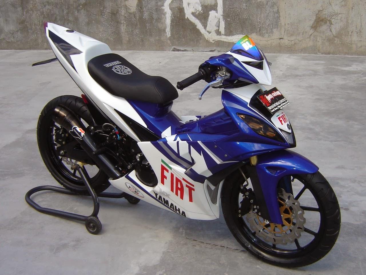 Gambar motor yamaha jupiter mx modif di singaraja