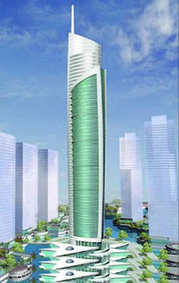 Almas Tower offices