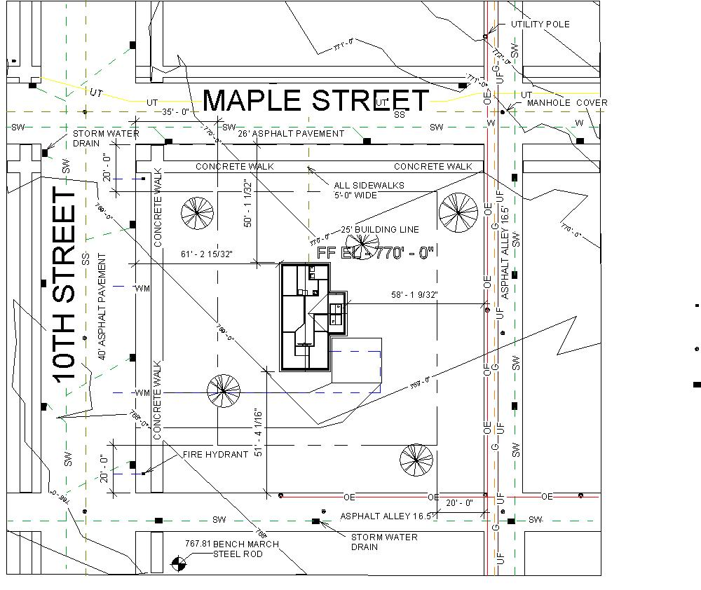 Sewer plans for my house escortsea for House site plan
