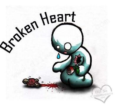 Jika patah hati, seperti inikah?