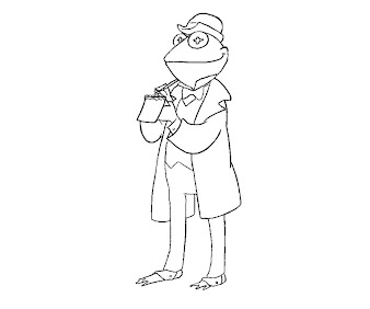#1 The Muppets Coloring Page